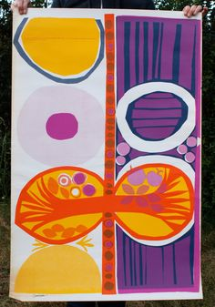 The Creation No. 2 - part of the Genesis Series, Vintage 1967 poster by Osborn Woods. $35,00, via Etsy.