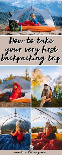 Nervous to take your very first backpacking trip? I am sharing everything you need to know so that it's a safe, fun, and successful adventure! Find out what to wear backpacking, where to backcountry camp, how to deal with wildlife in the wilderness, what to eat backpacking, and more! | backpacking tips | backpacking checklist | backcountry camping packing list | first time backcountry camping | Backpacking Checklist, Camping Packing, Tent Camping, Campsite, Camping Hacks, Local Parks, Day Hike, Outdoor Education, Adventure Activities