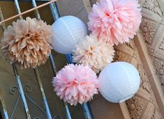More colors, cuts, and sizes available at our shop: https://www.etsy.com/shop/LePetitPom  Whether you are adorning a wedding arch, dessert table,