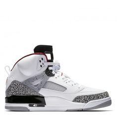 Jordan Spizike-White Varsity Red Cement Grey Black