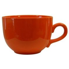Waechtersbach Fun Factory 20 Oz. Jumbo Cup Color: Orange