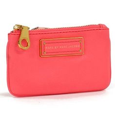 Marc by Marc Jacobs Too Hot To Handle Pebbled Leather Key Zip Coin Pouch - Bright Coral Marc by Marc Jacobs http://www.amazon.com/dp/B00GATKXA2/ref=cm_sw_r_pi_dp_49k8ub0AV8PM9
