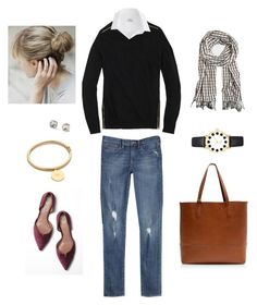 Houndstooth by bluehydrangea on Polyvore featuring J.Crew, Vince Camuto and Kate Spade