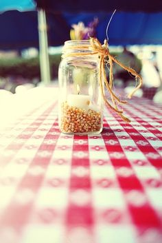 adorable candle votive for summer bbqs
