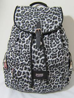 LIMITED EDITION Pink by Victoria's Secret leopard cheetah animal ...