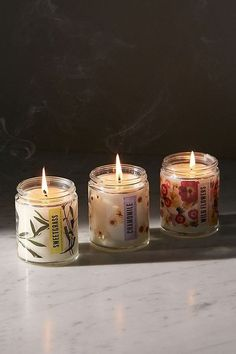 Shop Pressed Botanical Candle at Urban Outfitters today. We carry all the latest styles, colors and brands for you to choose from right here. Soy Wax Candles, Scented Candles, Pillar Candles, Candle Jars, Bougie Candle, Candle Packaging, Easy Home Decor, Candle Making, Christmas Home