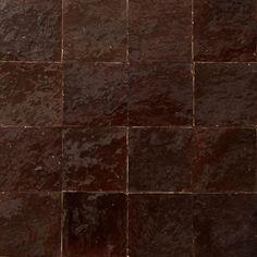 Płytki Zellige - brązowe