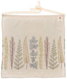 Coral & Tusk Plants apron