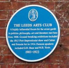 ... blue plaque, West Yorkshire Playhouse, Leeds (30th May 2014).jpg
