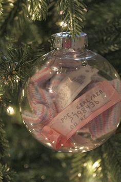 Newborn ornament