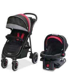 Graco Baby Aire4 XT Stroller & SnugRide Click Connect 35 Infant Car Seat Travel System Set - Kids & Baby - Macy's