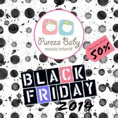 Ultimo dia com preços de #BlackFriday !  Aproveite para antecipar suas compras de natal na Pureza Baby, somente até hoje todos os produtos com até 50% de desconto.  www.purezababy.com.br