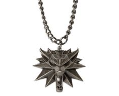 The Witcher 3 Medallion Necklace - Geek Decor