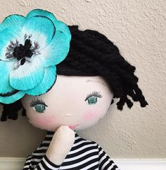 The sweetest rag doll by SpunCandy   See this Instagram photo by @spuncandydolls •