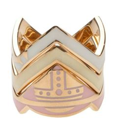 Vivienne Westwood stacking ring set