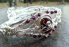 Ruby Artwear Cuff/Bangle Bracelet, $99.99