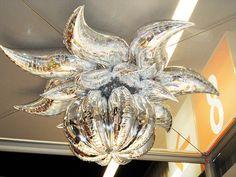 Chris Horn's creation using Anagram's Decorators. Balloon Chandelier, Hanging Balloons, Balloon Ceiling, Balloon Columns, Ceiling Decor, Balloon Stands, Love Balloon, Balloon Flowers, Balloon Ideas