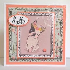 Designed by Sarah Bell - using Making Cards Magazine papers