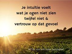 Ben jezelf, maar vooral blijf bij jezelf! www.ritzn.nl