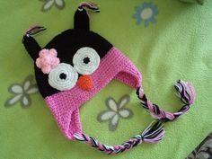 Owl Hat for Babies and Children. Owl Hat in by LaBoutiqueFairy