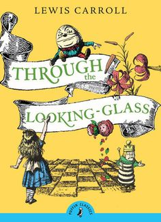 When Alice steps through the looking-glass, she enters a very strange world of chess pieces and nursery rhyme characters such as Humpty Dumpty, Tweedledum and Tweedledee and the angry Red Queen. Nothing is what it seems and, in fact, through the looking-glass, everything is distorted.