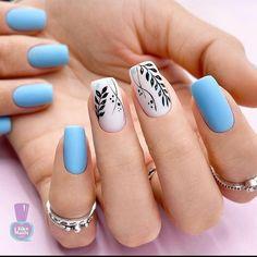 Pretty Nail Art, Cute Nail Art, Cute Nails, Fingernail Designs, Nail Art Designs, Diy Christmas Snowflakes, Manicure E Pedicure, Minimalist Nails, Stylish Nails