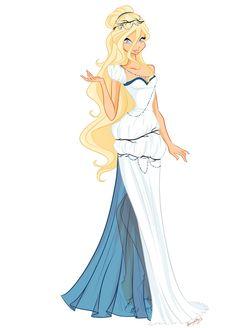 COM: Thiadora Dress by BerrySplash on DeviantArt