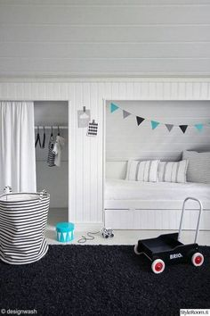 20 inspiring ideas for children's bedrooms with sloped ceilings | @meccinteriors | design bites
