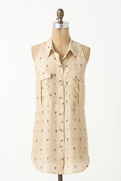 Mirrored Hearts Tunic #anthropologie