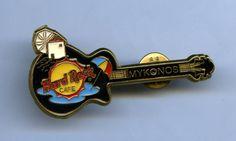 Mykonos - Hard Rock Cafe Guitar Pin