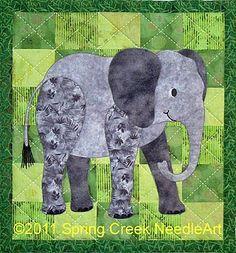Ellingham Elephant Quilt Pattern