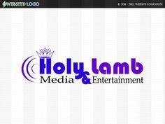 Website Logo For Holy Lamb Website Logo, Unique Logo, Branding Your Business, Brand You, Lamb, Identity, Logo Design, Entertaining, Logos