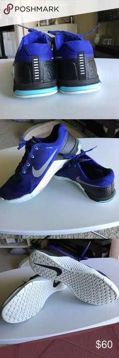 c45af4283e1e45 Nike Metcon 2 Blue nike Metcon 2 size 12 shoes. These shoes have been worn