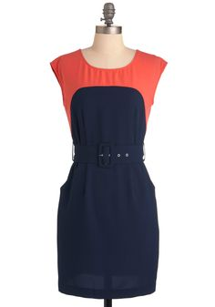 Sheath the One Dress in Navy, #ModCloth