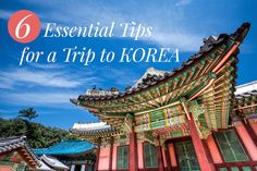 6 Essential tips to help plan your perfect trip to Korea