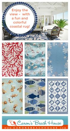 Live at the beach every day - or just add a touch of summer to your home!