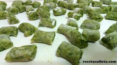 ÑOQUIS DE PATATA Y ESPINACA - Recetas a dieta Veggies, Ethnic Recipes, Desserts, Food, Gnocchi Recipes, Homemade Recipe, Healthy Recipes, Eating Clean, Noodle