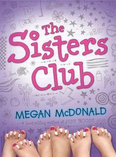 The Sisters Club by Megan McDonald #kidlit #sisters #siblings #mglit #middlegrade