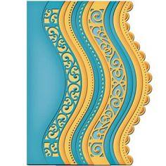 Spellbinders Card Creator Borderabilities - Curved Borders 2
