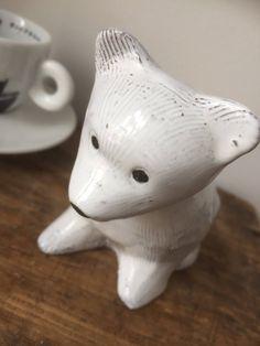 Upsala Ekeby/polar bear/Mari Simmulson/ björn/UE/bear/figurine by WifinpoofVintage on Etsy Always Thinking Of You, Piggy Bank, Make You Smile, Polar Bear, Make It Yourself, How To Make, Etsy, Collection, Money Bank