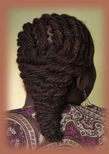 Loc Hairstyle | Black Women Natural Hairstyles