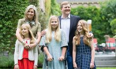 Queen Máxima shines in family photo shoot after recovering from concussion - HELLO! Canada