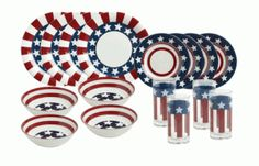 Blog post at See Mom Click : Housewares Deals has a nice sale today on this fun set of dishes! Perfect for a July 4th cookout. ThisPfaltzgraff®Stars and Stripes[..]