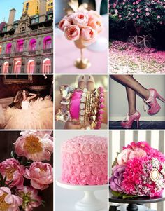 Pink wedding pretties!