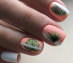 Peach Nails, Summer Nails, Beauty, Beleza, Cosmetology, Peach Colored Nails, Summery Nails, Summer Toenails