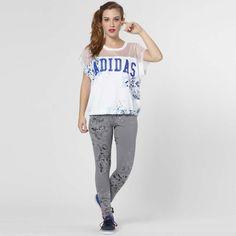 Calça Legging Adidas Originals Ldn P; Composição: 95% algodão / 5% poliéster; Tecido: Malha simples; Cós macio, costuras reforçadas; Estampa estilizada, nome da marca estampado na perna esquerda.