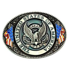Eagle/Vulture American flag Pattern Belt Buckle Handmade homemade belt accessories waistband DIY Western cowboy rock style – New Products Western Shop, Western Cowboy, Metal Buckles, Belt Buckles, Westerns, Fashion Belts, Metal Fashion, Biker Chick, Rock Style