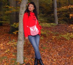 Märchenwald Handtasche Fuchs von Tina Toffifee auf DaWanda.com fox