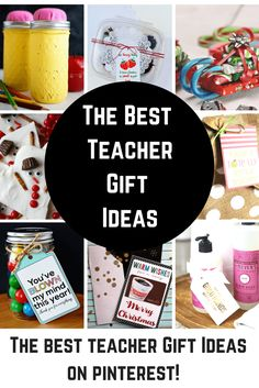 Teacher gift ideas that will take you to the head of the class! These great teacher gifts are perfect for Christmas gifts, Holiday presents, teacher appreciation day or just to say an end of they year thank you!