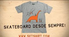Skateboard Desde Sempre SKT SHIRT - Clube do skate